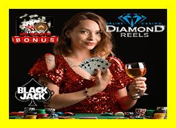 Diamond Reels Casino Blackjack No Deposit Bonus  game-eyeball.com